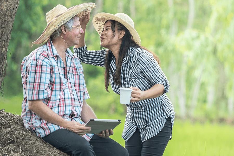 Wechseljahre-Mann-und-Frau